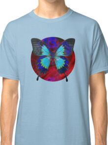 Psychedelia Illusions Take the Form of Butterflies Classic T-Shirt