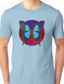 Psychedelia Illusions Take the Form of Butterflies Unisex T-Shirt