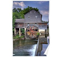 The Old Mill in Pigeon Forge Poster