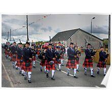 Coalburn Pipe Band Poster