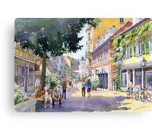 Germany Baden-Baden Lange Strasse Canvas Print