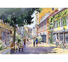 Germany Baden-Baden Lange Strasse Photographic Print