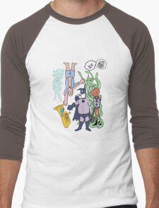 Baman Piderman Men's Baseball ¾ T-Shirt