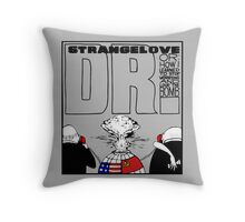 Dr. Strangelove OR: How I Learned To Stop Worrying and Love the Bomb Throw Pillow