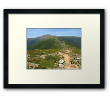 Summit of Mt. Pierce Framed Print