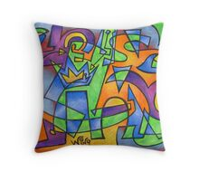 Tribute to Chelsea Throw Pillow