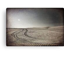 Riding Into the Sun Canvas Print