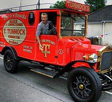 Tunnock's Van by Tom Gomez