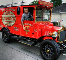 Tunnock's Van by Tom Gomez