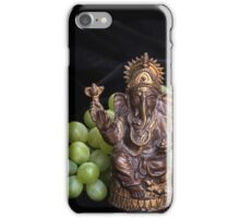 Good Fortune with Ganesha iPhone Case/Skin