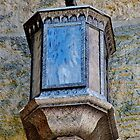 Old Light Fixture on Church by Martha Sherman