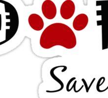 Adopt. Save a Life. Sticker