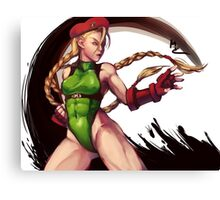 Cammy  Canvas Print