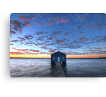 Crawley Boat House Canvas Print