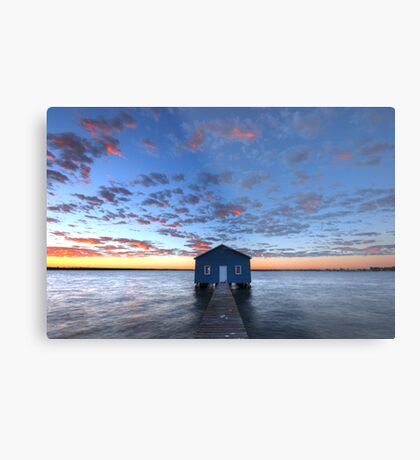 Crawley Boat House Metal Print