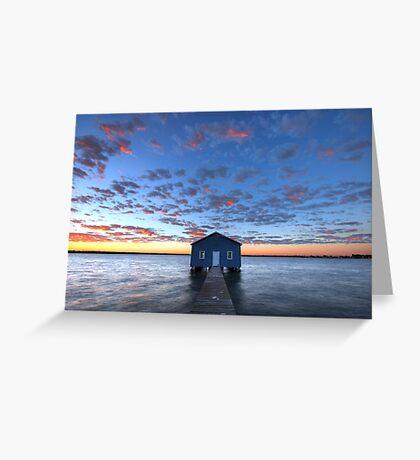 Crawley Boat House Greeting Card