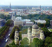 Riga Panorama by bubblehex08
