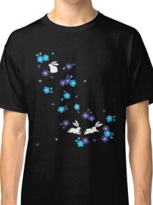 Japanese Bunny - Blue Classic T-Shirt