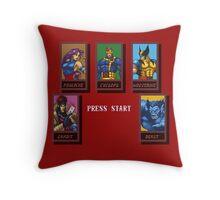 X-Men: Mutant Apocalypse Throw Pillow