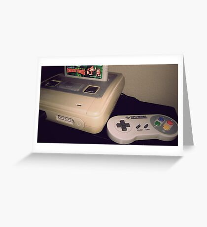 SNES Greeting Card