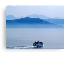 The Greek Ferry Canvas Print