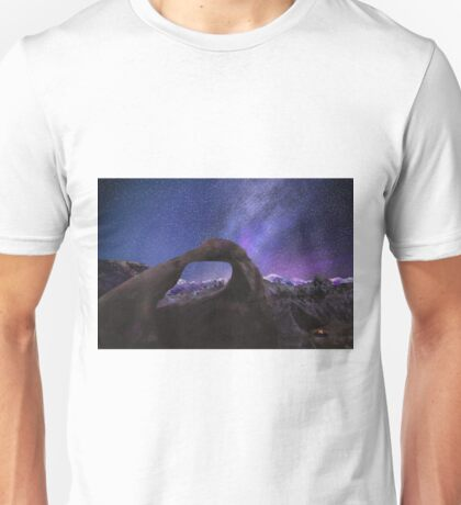 Arch and Starry Sky Unisex T-Shirt