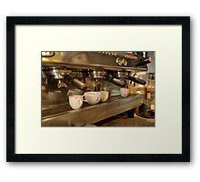 Seattle Fuel Framed Print
