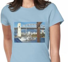 Boats & Bridges Womens Fitted T-Shirt