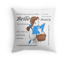 Belle  Throw Pillow