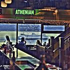 Athenian Ferry by lincolngraham