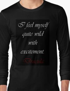 Wild With Excitement Long Sleeve T-Shirt