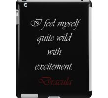Wild With Excitement iPad Case/Skin