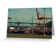 Industrial Rainier Greeting Card