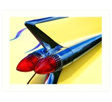 Caddy Rockets Art Print