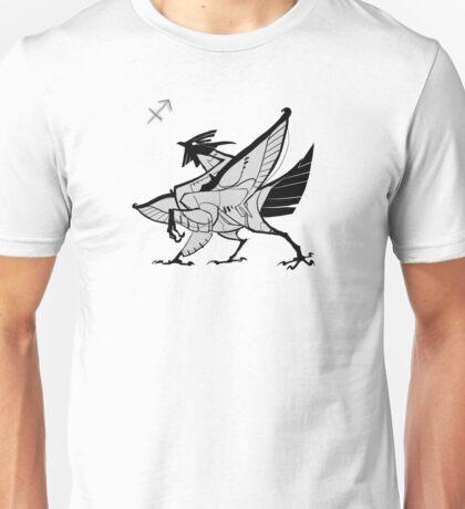 DoubleZodiac - Sagittarius Rooster Unisex T-Shirt