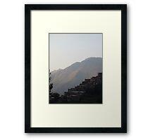 Living on a tangent Framed Print