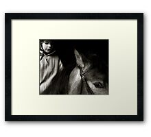 Training Framed Print