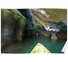 Phang Nga Delta inside the caves Poster