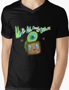 We are all goofy goobers! Mens V-Neck T-Shirt