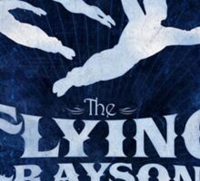 Flying Graysons Sticker