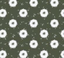Abstract dandelions by miroshina