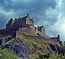 Edinburgh Castle, Scotland. by Aj Finan