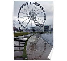 Middlesbrough wheel Poster
