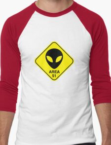 Area 51 Men's Baseball ¾ T-Shirt