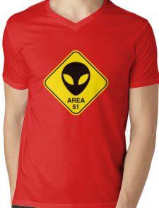 Area 51 Mens V-Neck T-Shirt