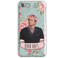 "Chris Traeger ""Boob Hats"" phone case iPhone Case/Skin"