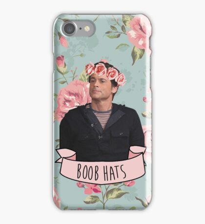 "Chris Traeger ""Boob Hats"" phone case iPhone Case/Skin"