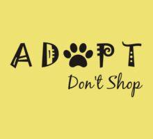 Adopt. Don't Shop. Kids Clothes