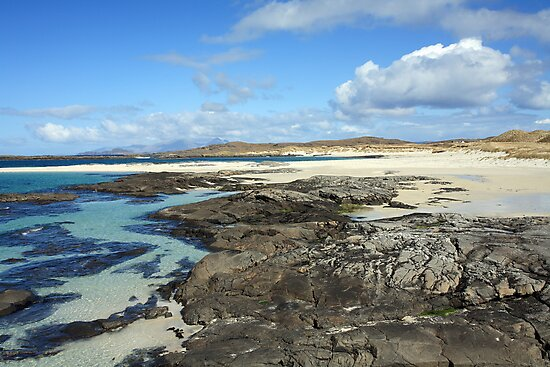 Sanna Bay Beach on the Arnamurchan Penninsula. by John Cameron