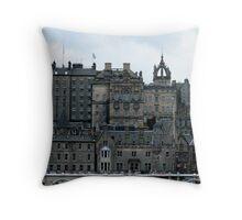 The Old Town - Edinburgh Throw Pillow